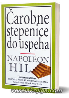 vesela knjiga valjevo carobne stepenice do uspeha napoleon hil