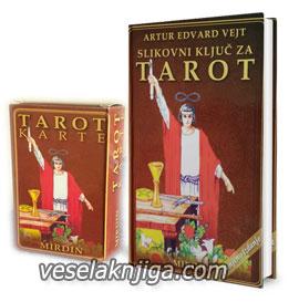vesela knjiga valjevo slikovni kljuc za tarot artur edvard vejn