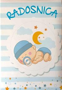 vesela knjiga valjevo radosnica plavo bela za decake 0